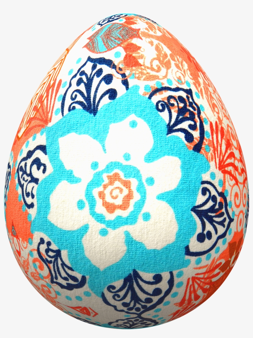 Eggs Easter Flowers Easter Eggs Png Image - Easter, transparent png #4633068