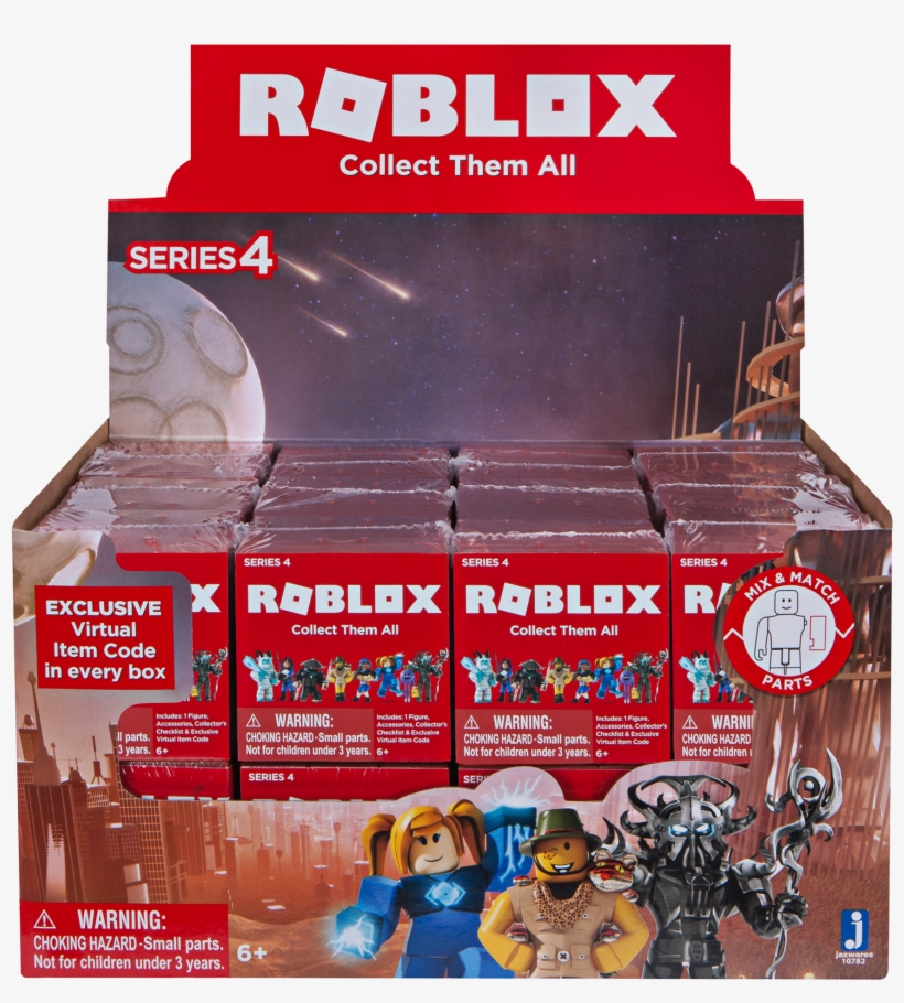 Roblox Toys Series 4 Free Transparent Png Download Pngkey