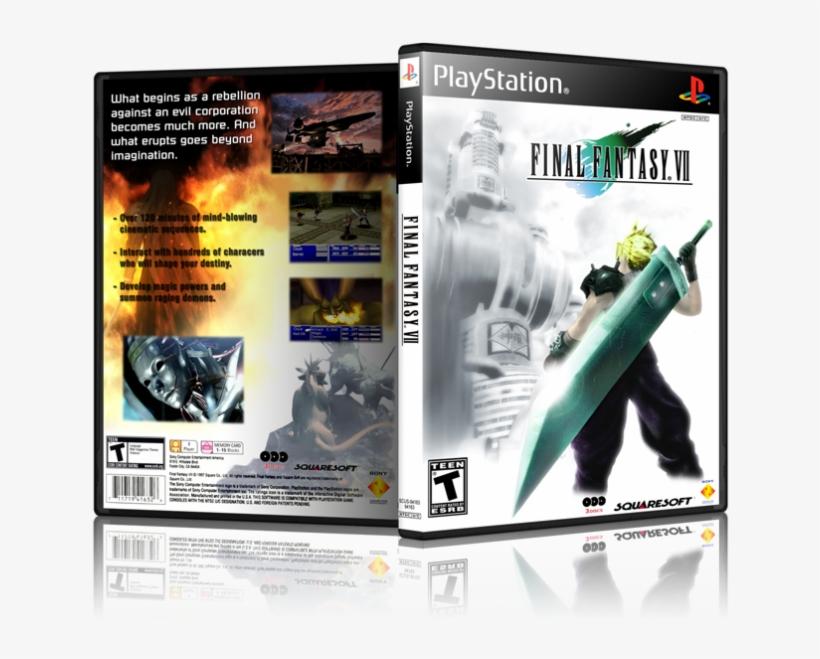Final Fantasy 7 Box Art, transparent png #4640352