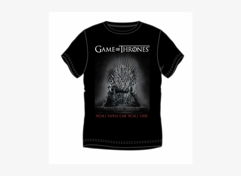 Basic T-shirt Throne - Game Of Thrones (dvd-rom), transparent png #4641905