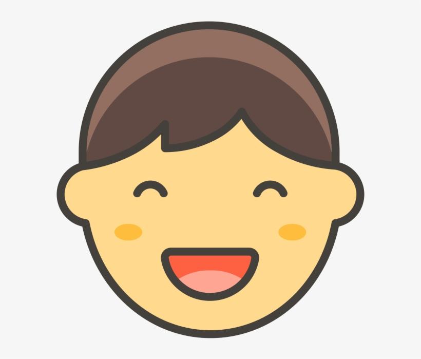 Boy Emoji Png Transparent Emoji - Emoji De Menina Png, transparent png #4642150
