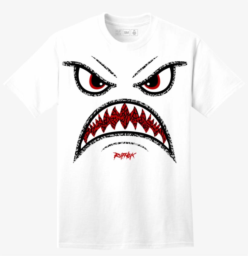 san francisco aeb31 b6494 Rufnek Hardware Warface Katrina 3s Tee - Jordan 5 White Cement Sneaker Tees  Shirts, transparent