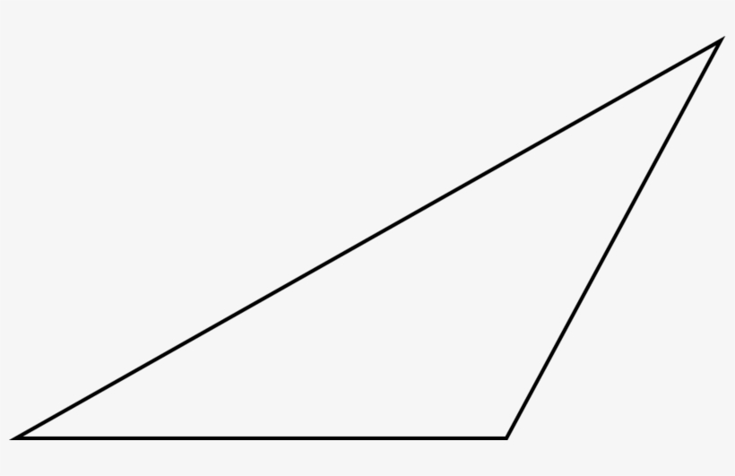 Scalene Triangle Outline Download Triang...