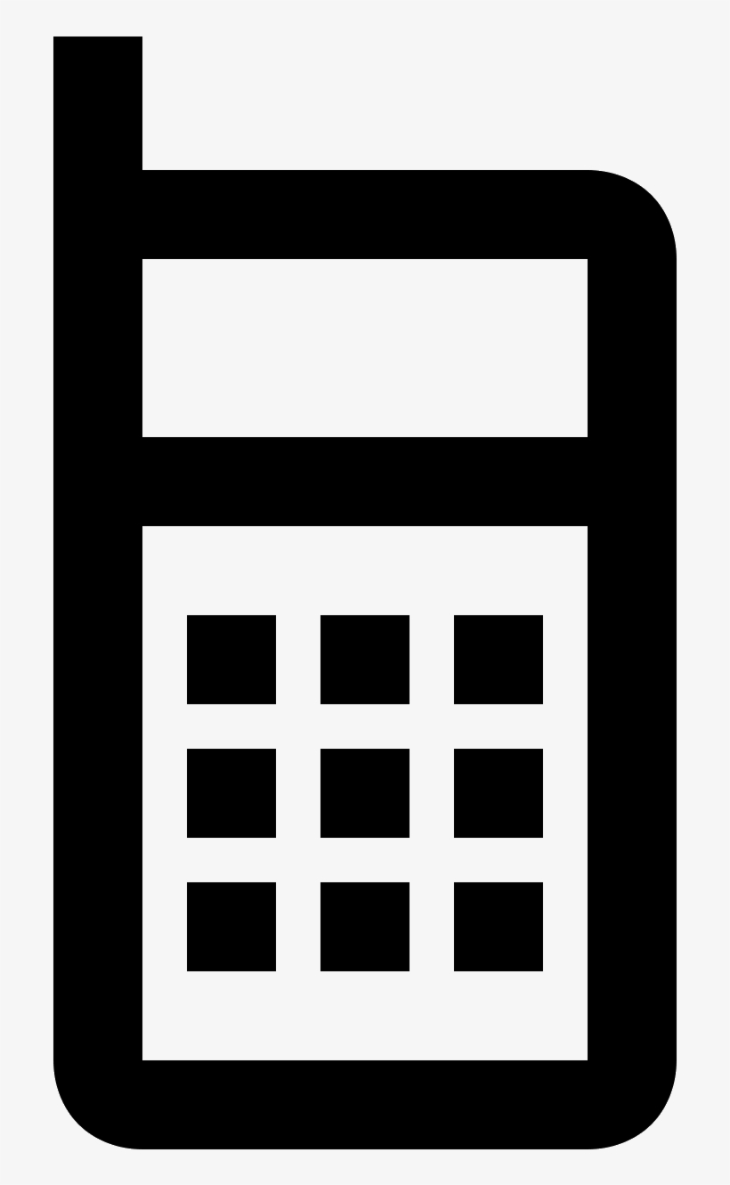 Cell Phone Icon - Icon, transparent png #4656794