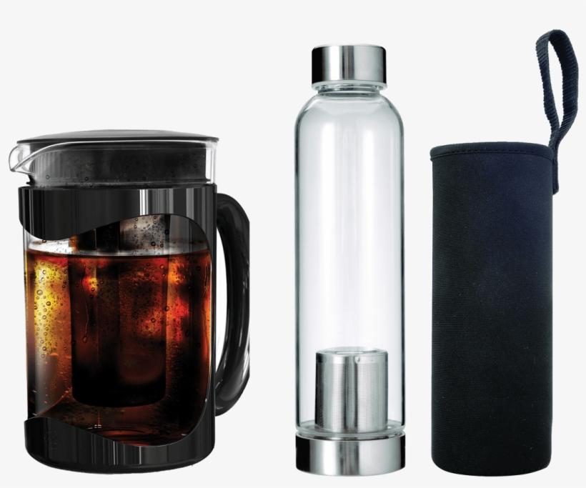 Primula Coffee Maker, Cold Brew, Burke, 1.6 Quart, transparent png #4656859