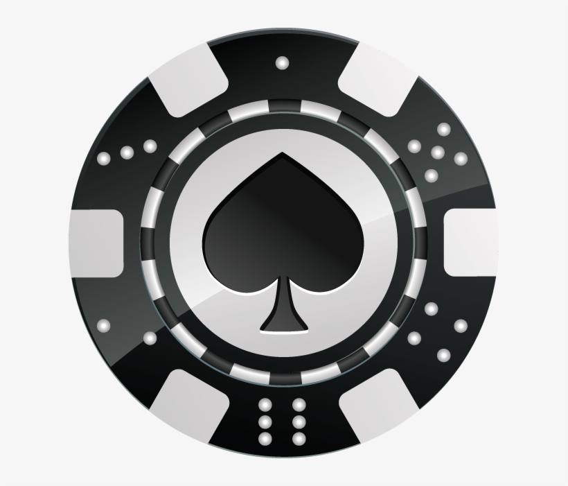 Black Chip Tournament Suicide Jacks Poker Club Png - Black ...