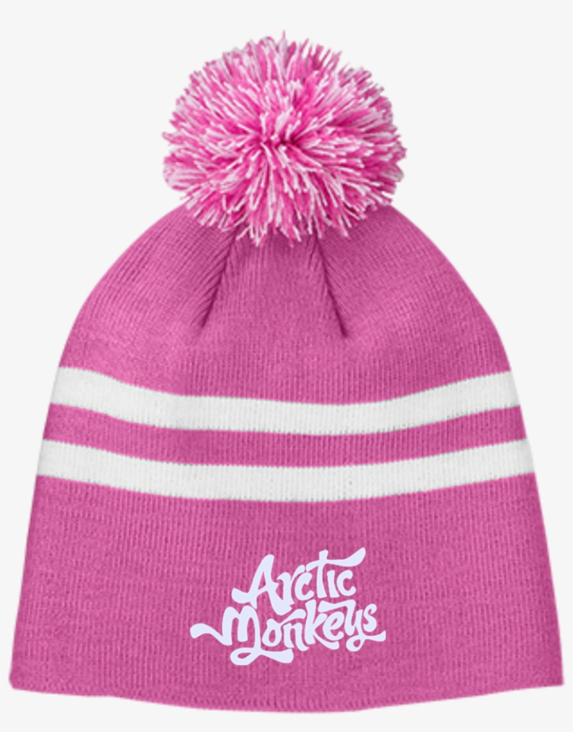 Arctic Monkeys Tt122 Team 365 Striped Pom Beanie - Let s Get Weird Tt122  Team 365 Striped 9ab7b9048718