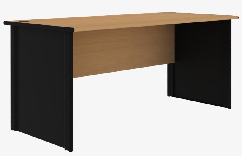Executive Office Desk Furniture - Desk, transparent png #4665544