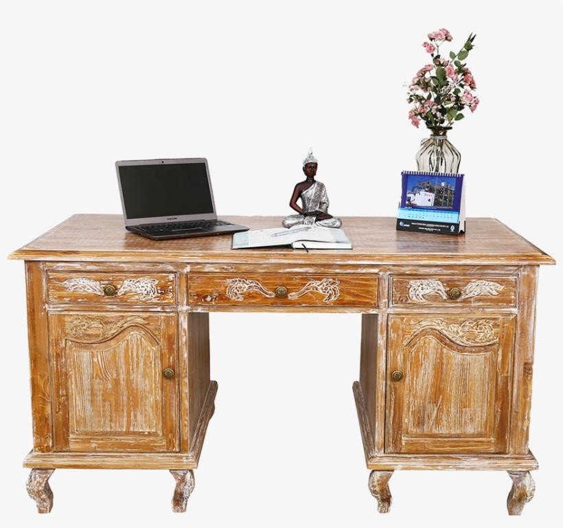 Fossil Office Desk - Computer Desk, transparent png #4665640