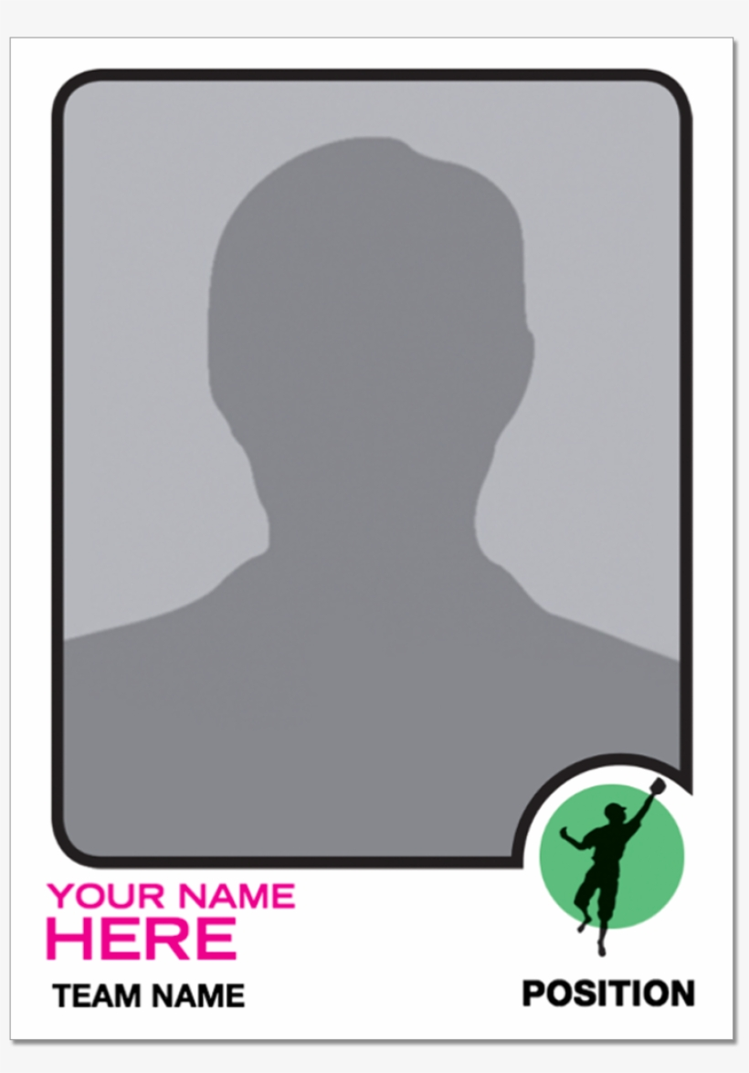 1973 Topps Baseball Custom Trading Card - Topps Football Card Template, transparent png #4666816