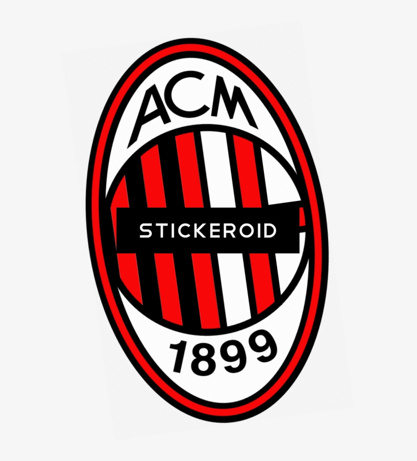 Ac Milan Logo Ac Milan Free Transparent Png Download Pngkey