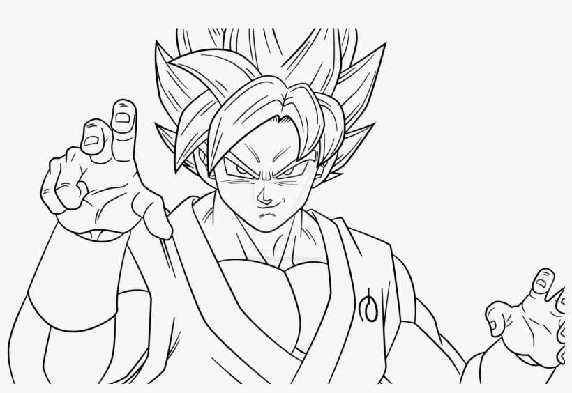Ssj4 Gogeta Coloring Pages: Super Saiyan Coloring Pages