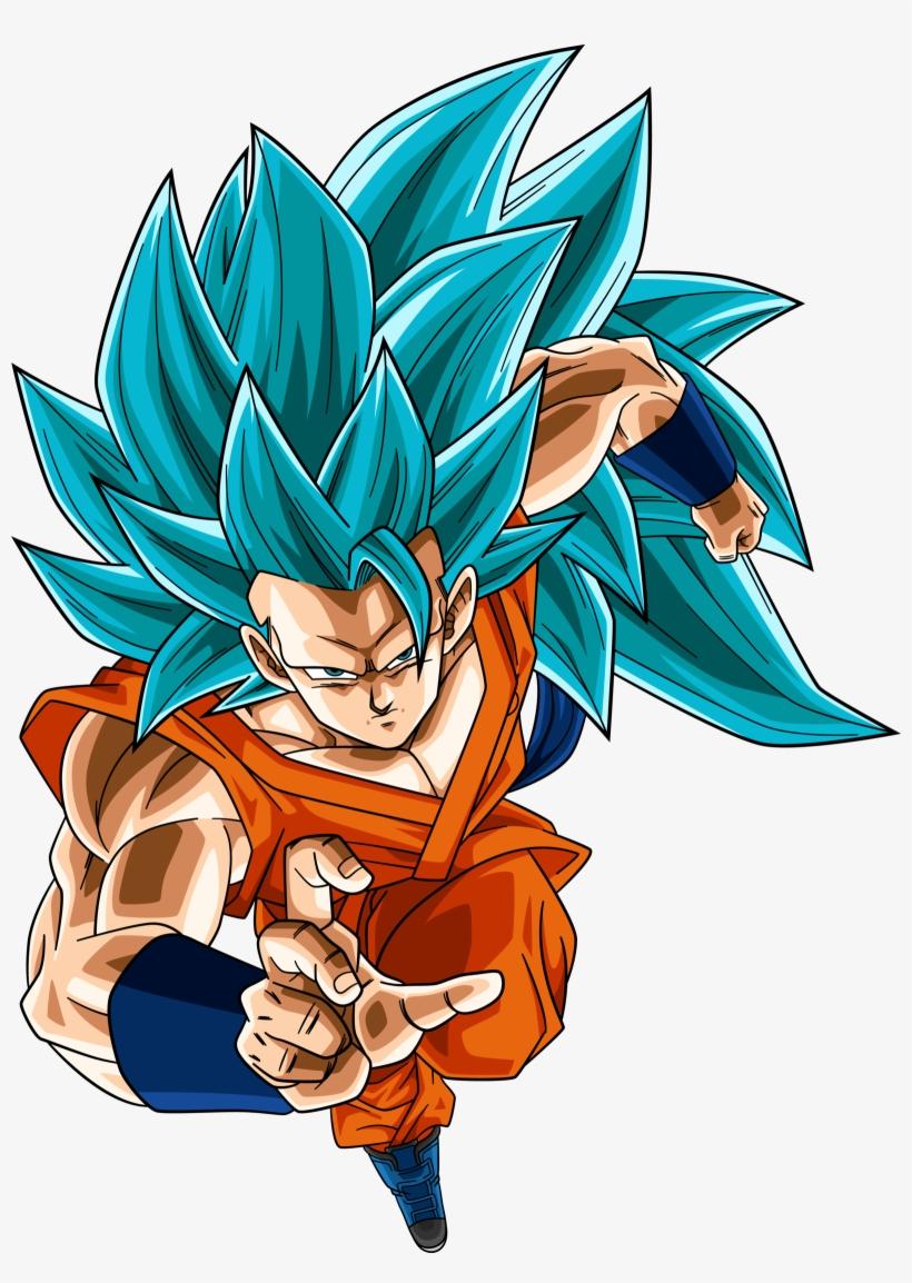 Super Saiyan Blue 3 Goku Dragonball Super By Rayzorblade189