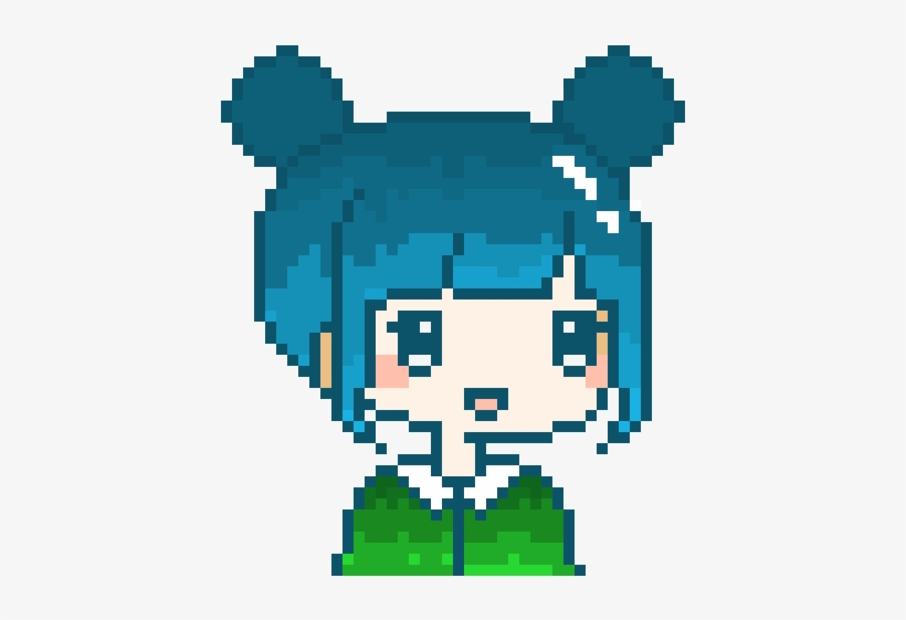 Kawaii Girl Pixel Art Kawaii Free Transparent Png