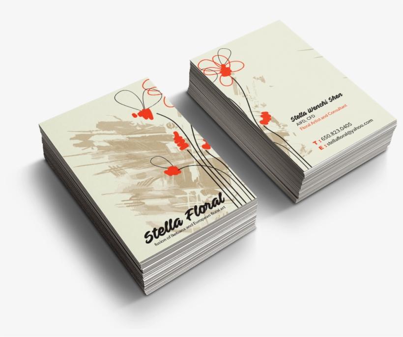 Sample Business Card Design - Bakery Co Business Cards, transparent png #4676731