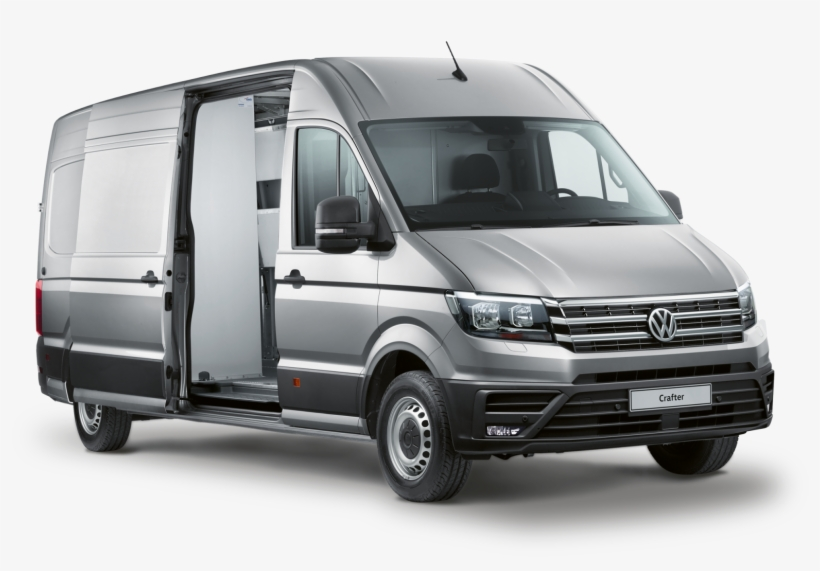Crafter/crafter Delivery Van/cr1020 Vw Crafter Delivery - Compact Van, transparent png #4679600