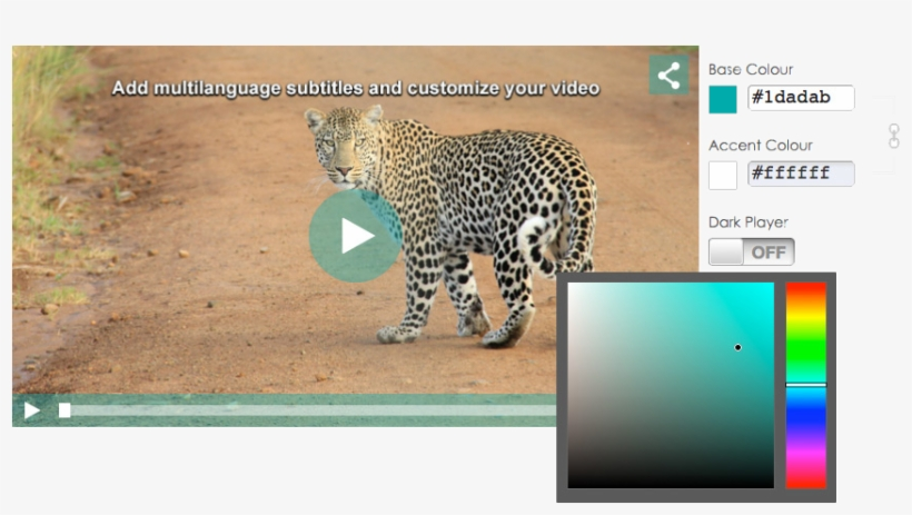 Customizable Video Player - Youtube Custom Embed Player, transparent png #4680198