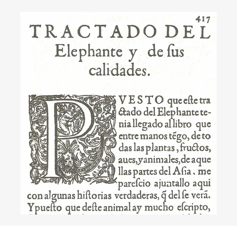 Tractado Drogas Medicinas Elefante Acosta De Victoria - Book, transparent png #4683110