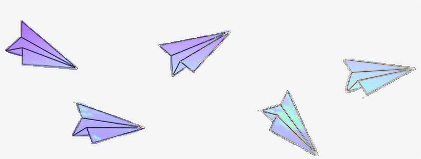 Paper Airplane Tumblr Transparent, transparent png #4686936