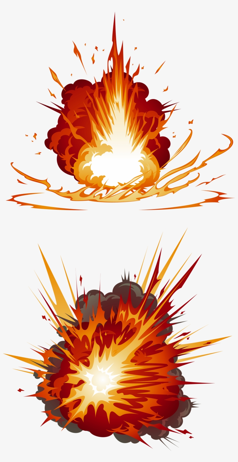 My Explosion Firecracker Explosions - Explosion Fire Cartoon Png, transparent png #4687388