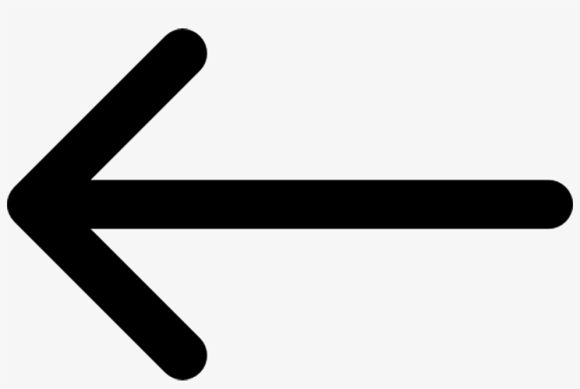 Arrow - Arrow Pointing Left, transparent png #4697932