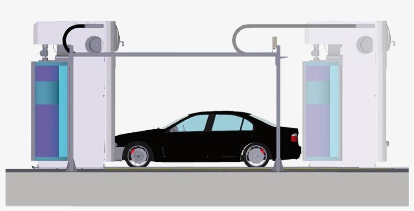Automatic Car Wash Equipment - Automated Car Wash Design, transparent png #471044