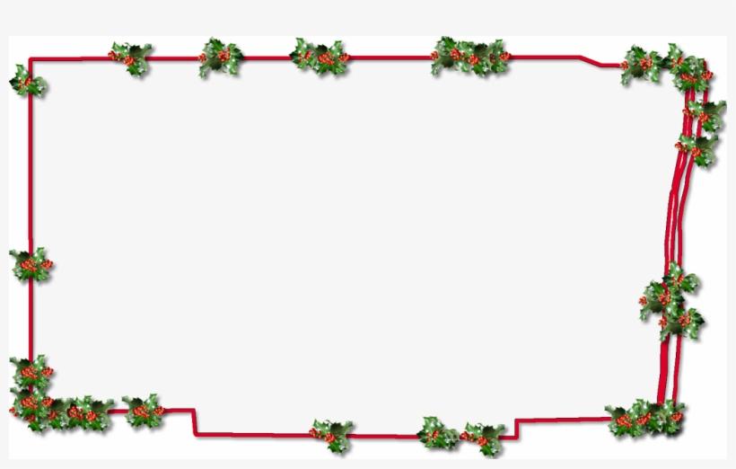 """Broward """"fancy Frame"""" Style - Christmas Frame Png Transparent, transparent png #471148"""