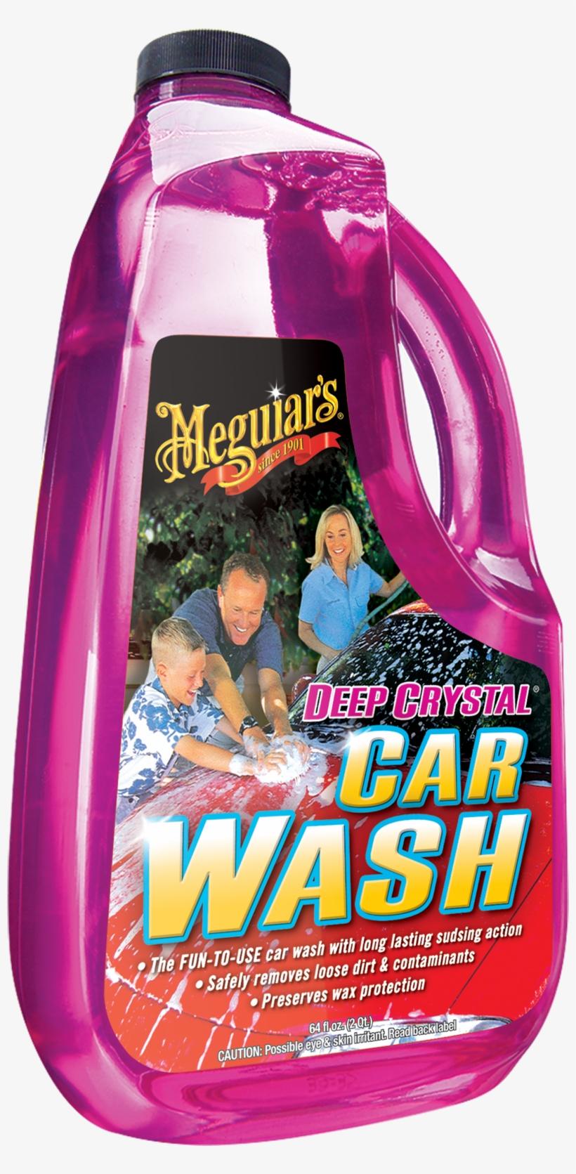 Deep Crystal® Car Wash - Meguiars 64 Oz Deep Crystal Car Wash G10464, transparent png #471797