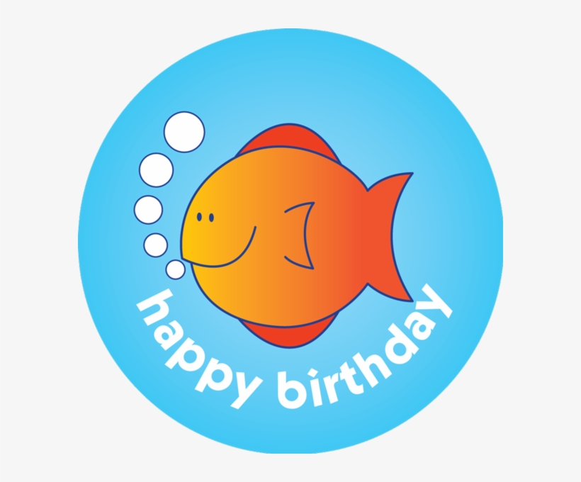 Collection Of Free Fishes Happy Birthday Download - Fairy Tale, transparent png #471916