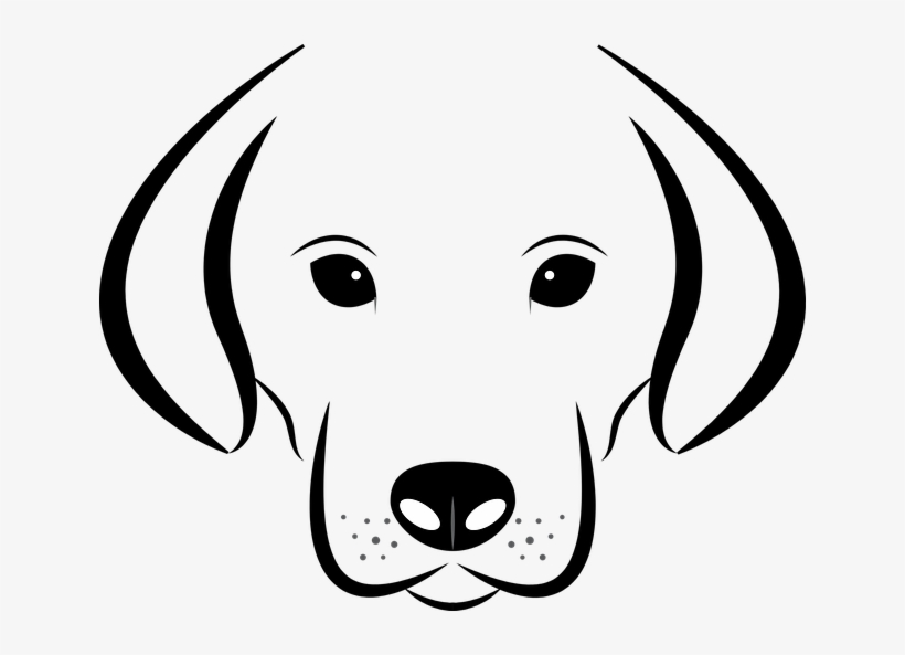 Dog Face Clipart Black And White Free Download Best Dog Face Black And White Clip Art Free Transparent Png Download Pngkey