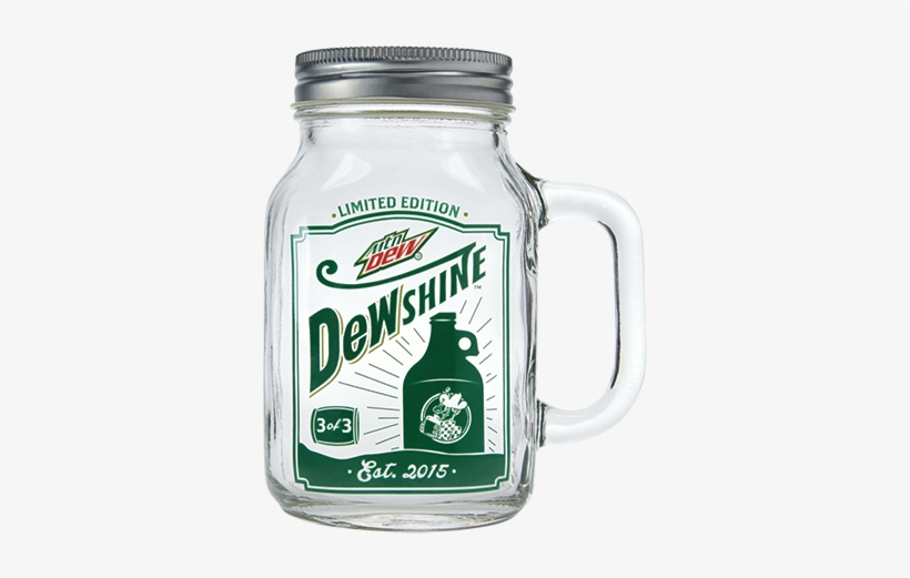 Mtn Dew Shine Jar - Mountain Dew Dewshine Soda - 4 Pack, 12 Fl Oz Bottles, transparent png #473024