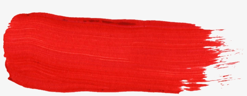 59 Red Paint Brush Stroke - Red Brush Stroke Png, transparent png #474783