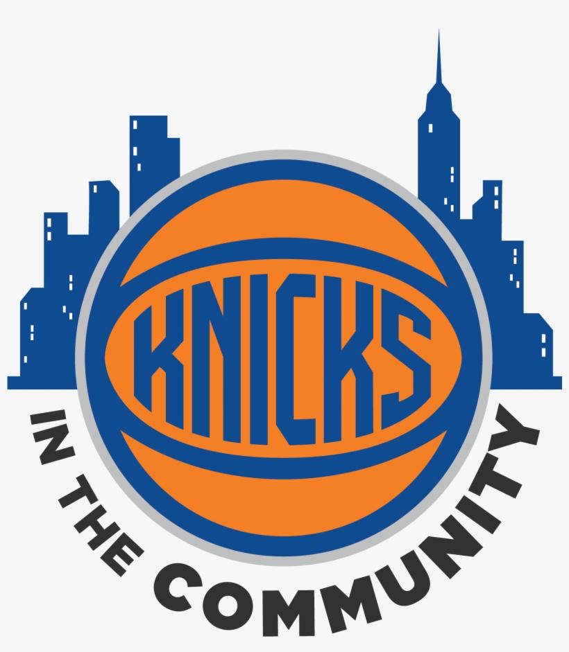 New York Knicks And Garden Of Dreams Thanksgiving Dinner - New York Knicks 2017 Logo, transparent png #475006