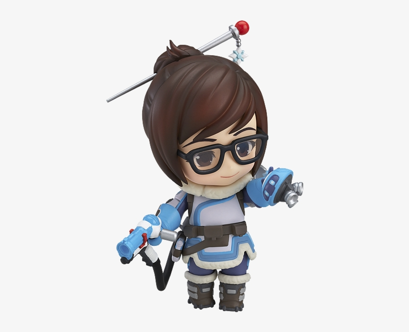 """In Contrast To The """"yay"""" Emote, The """"companion"""" Emote - Nendoroid Mei: Classic Skin Edition (overwatch), transparent png #475808"""