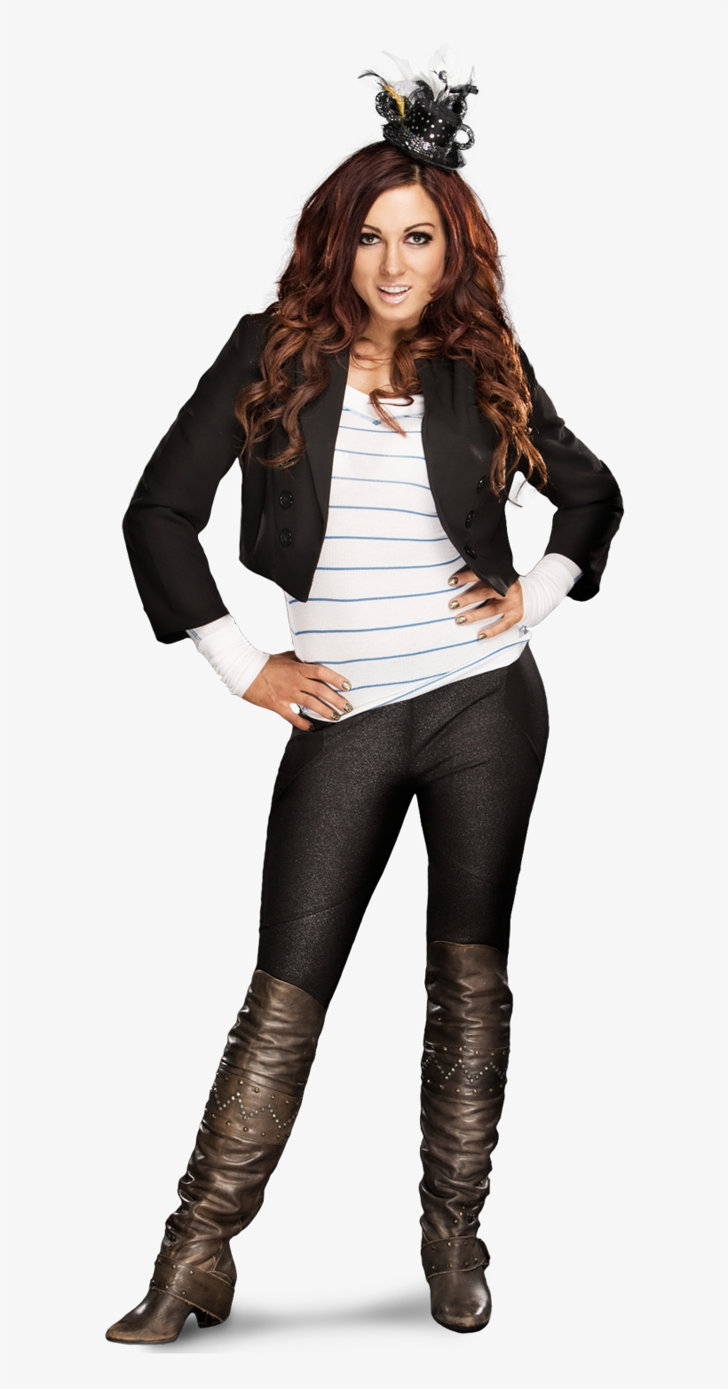 Carmella Is Trying Really Hard To Read Something Far - Becky Lynch Wwe Profile, transparent png #475997