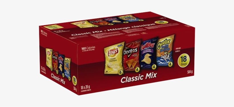Classic Mix - Frito Lay Multipack Classic Mix Variety Pack Snacks, transparent png #476036
