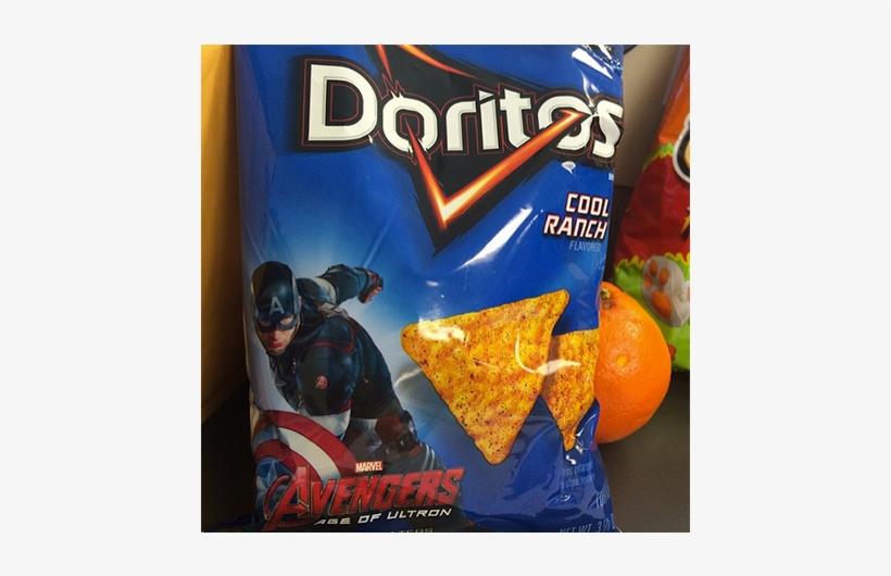 Human Dorito Chris Evans Is Now On An Actual Bag Of - Doritos Bbq, transparent png #476339