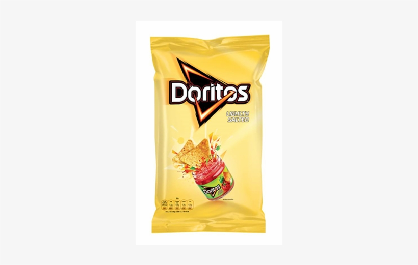 Doritos Lightly Salted - Lightly Salted Doritos, transparent png #477042