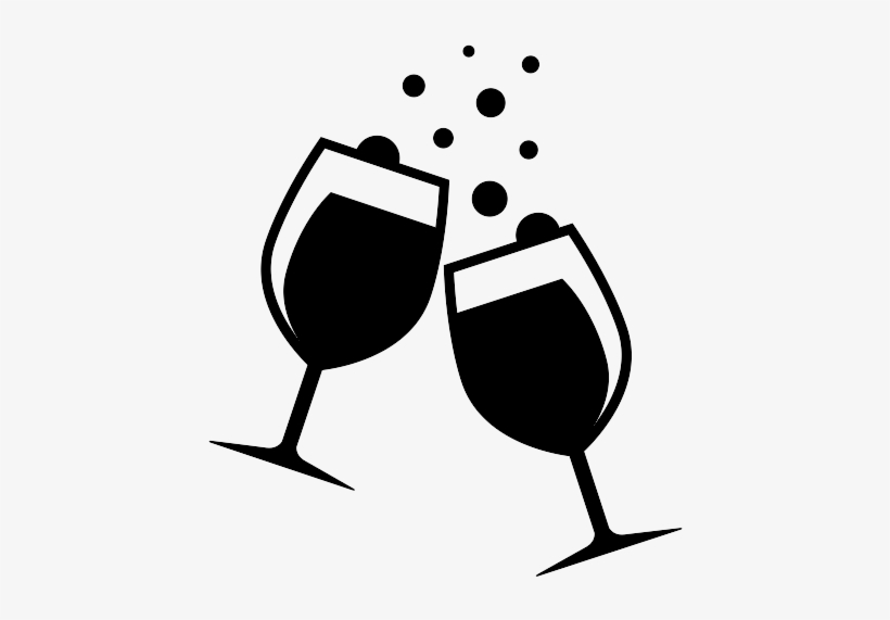 Drinks Clipart Transparent Background - Transparent Background Wine Glass  Clipart - Free Transparent PNG Download - PNGkey