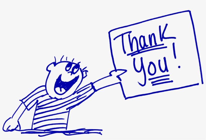 Thank You Cartoon - Thank You Png Animation, transparent png #477689