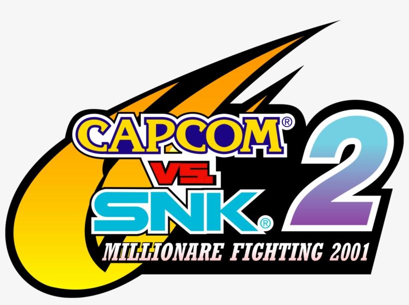 Snk - Capcom Vs Snk 2 Logo, transparent png #479014