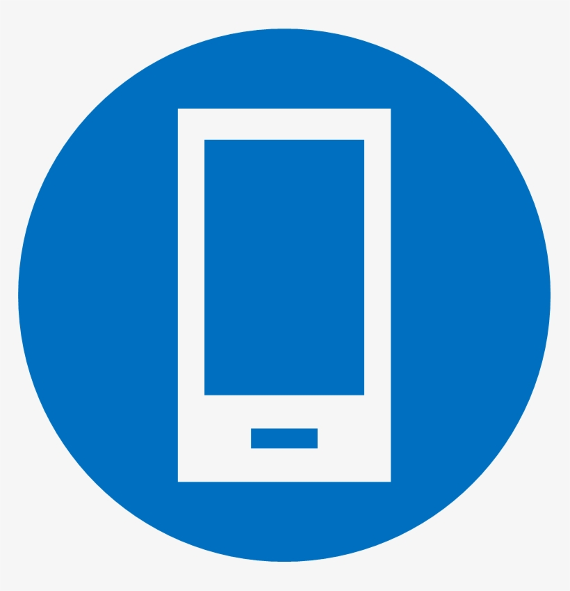 Vectr Icon Of Cell Phone - Mail Icon, transparent png #479063