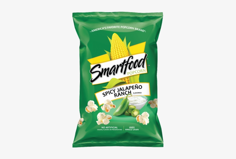 Smartfood Popcorn Movie Theater Butter Flavored Free Transparent Png Download Pngkey