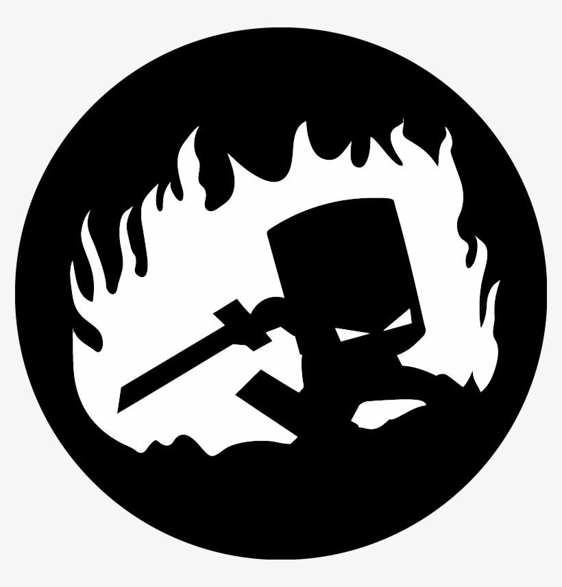 Castle Crashers Pumpkin Stencil Free Transparent Png Download Pngkey