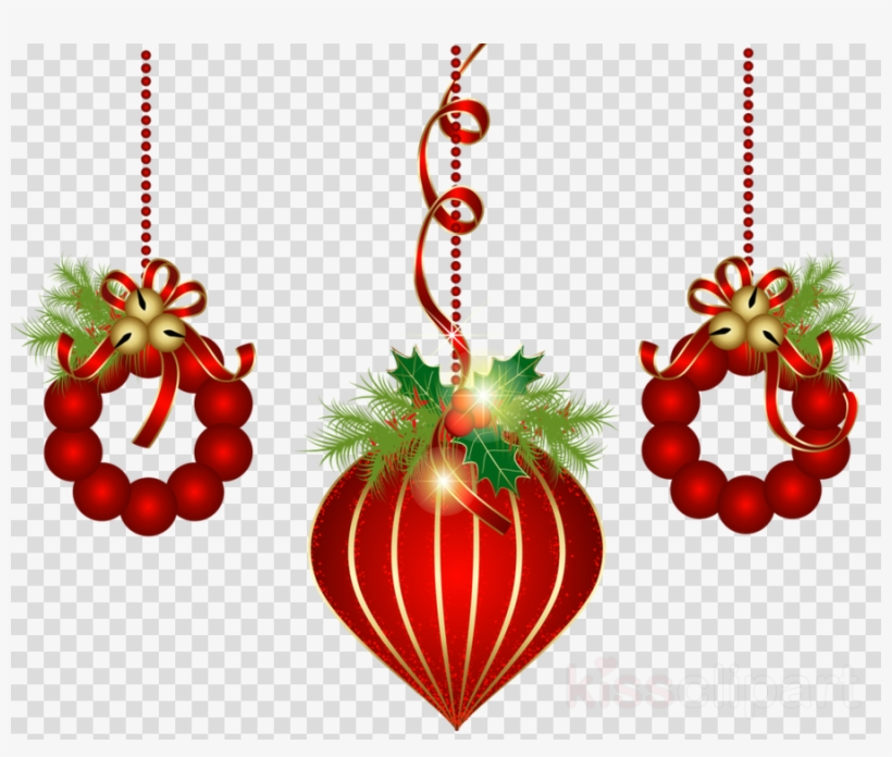 Christmas Decorations Transparent Background Clipart - Christmas Decoration No Background, transparent png #4700436