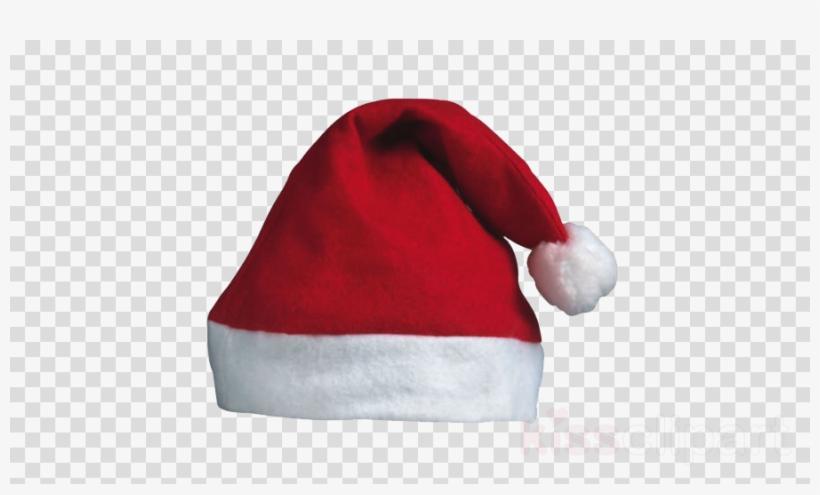 Download Santa Hat Transparent Background Clipart Santa - White Icon Github  Logo 60eb23b91dee