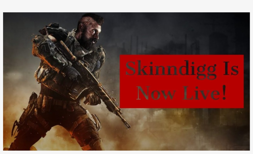 Black Ops 4 Live Stream Join And Chill Grind To 50 - Black Ops 4 Blackout, transparent png #4706049