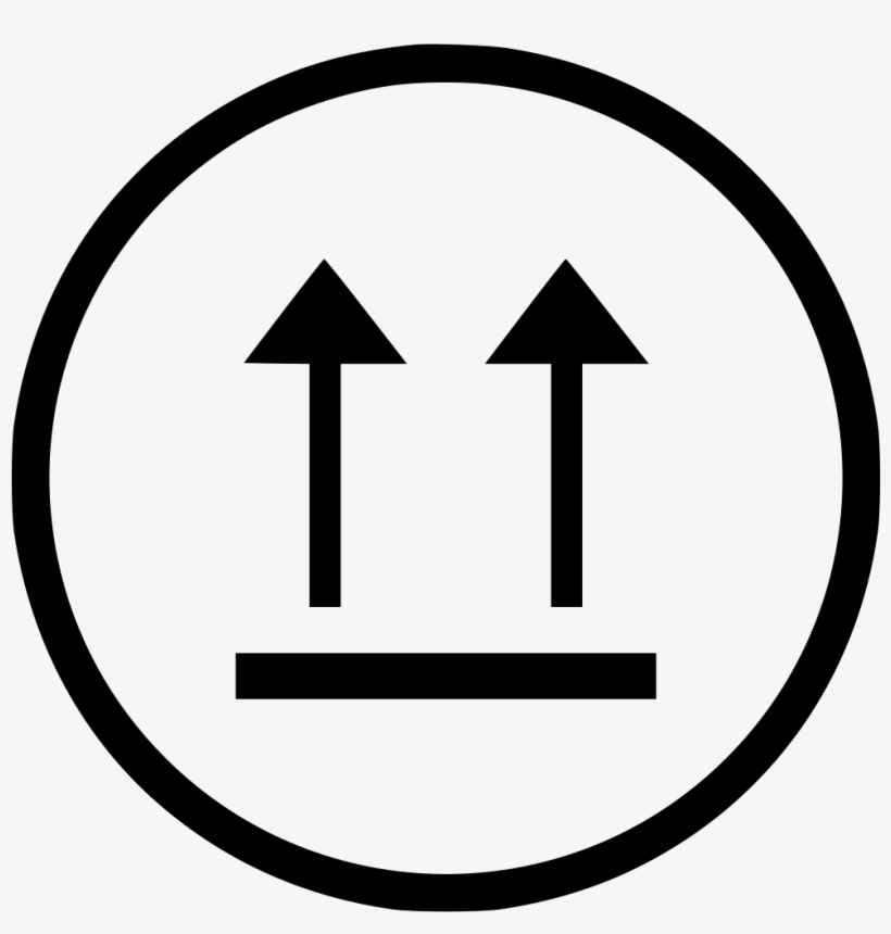 Up Side Top Up Arrows Way Vector Comments - Traffic Sign, transparent png #4708162