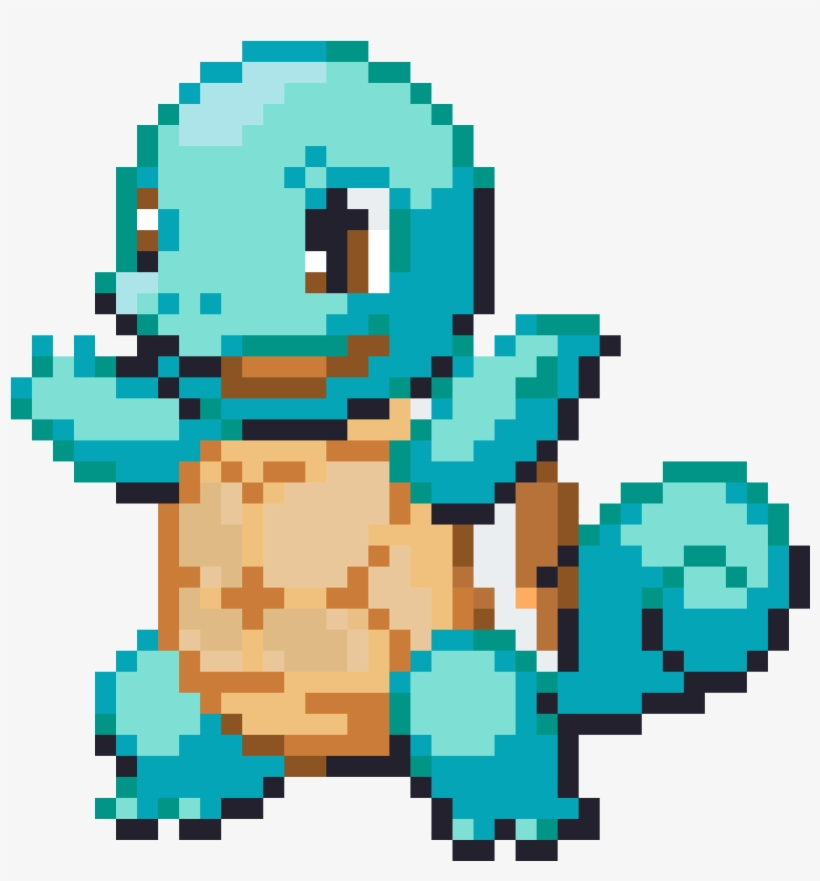 Squirtle - Pokemon Sprite Squirtle, transparent png #4716546