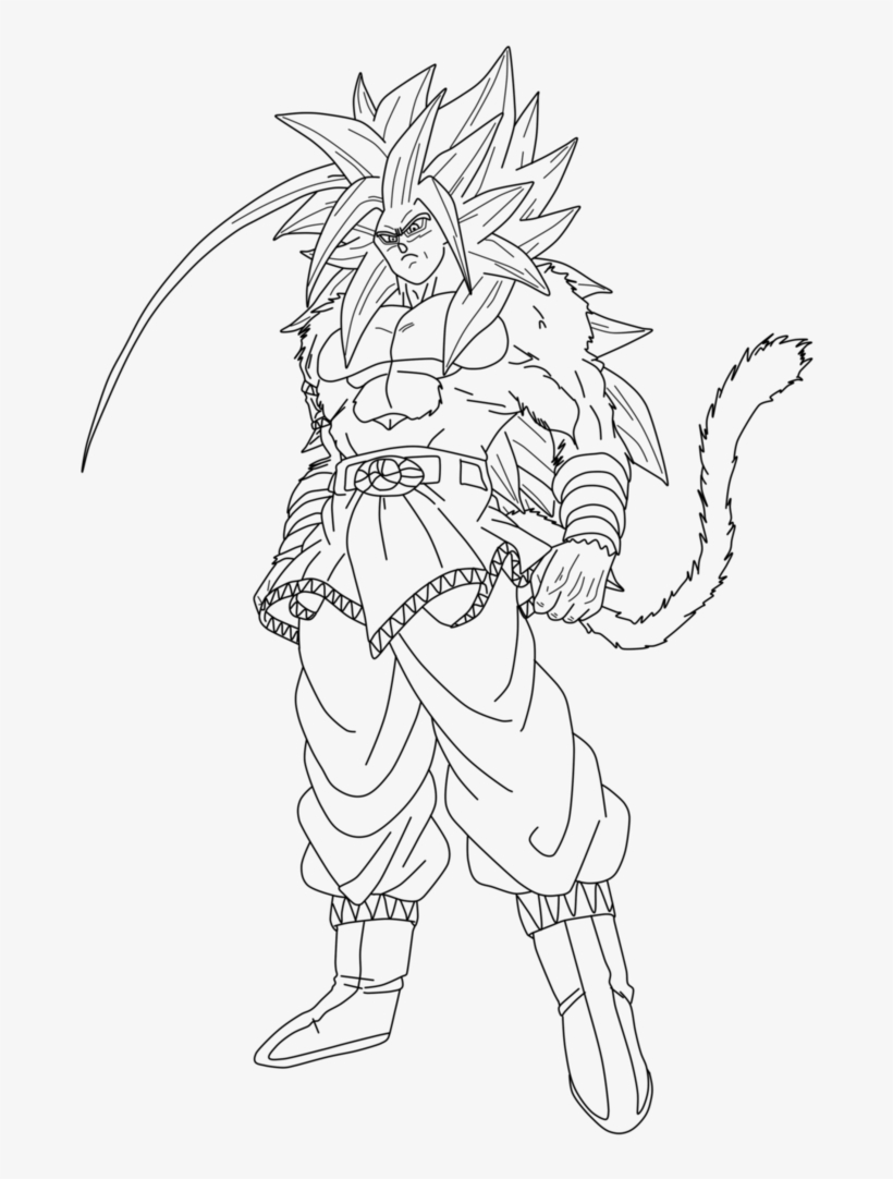 Drawing Dark Super Saiyan Goku Ssj 5 Drawing Free